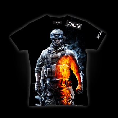 Battlefield 3 Soldier Heat T-Shirt XL