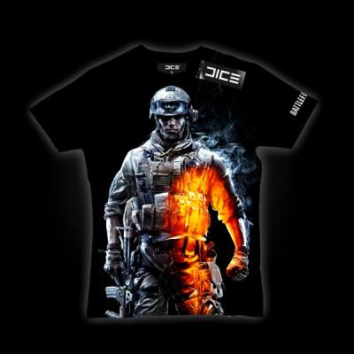 Battlefield 3 Soldier Heat T-Shirt XL