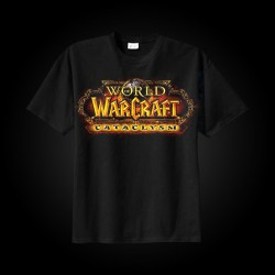 J!NX World of Warcraft Cataclysm Logo T-Shirt L