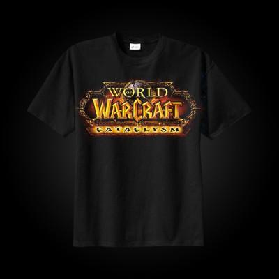 J!NX World of Warcraft Cataclysm Logo T-Shirt L