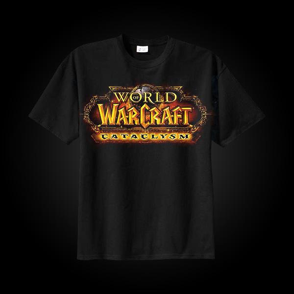 J!NX World of Warcraft Cataclysm Logo T-Shirt S купить