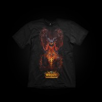 J!NX World of Warcraft Deathwing Chest T-Shirt M