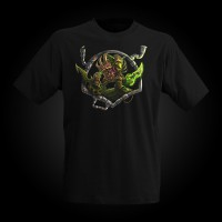 J!NX World of Warcraft Goblin T-Shirt L
