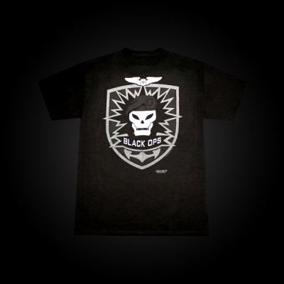 Call of Duty: Black Ops T-Shirt Skull M купить