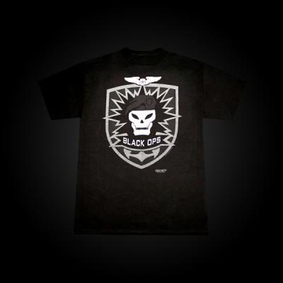Call of Duty: Black Ops T-Shirt Skull S купить
