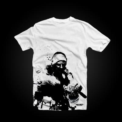 Call of Duty: Black Ops T-Shirt Snow Soldier S купить