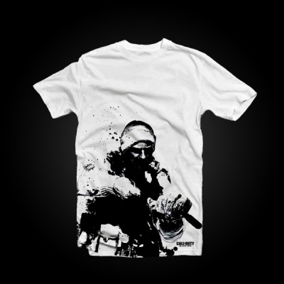 Call of Duty: Black Ops T-Shirt Snow Soldier XL