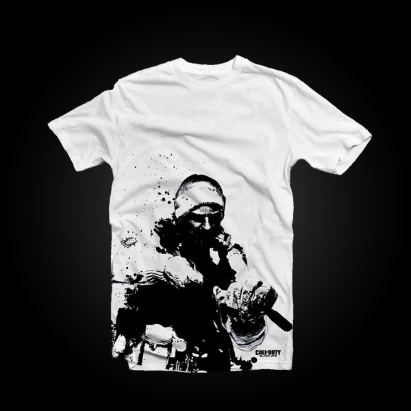 Call of Duty: Black Ops T-Shirt Snow Soldier S купить