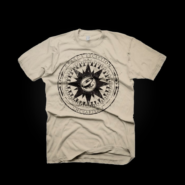 Uncharted 3 Compass T-Shirt M купить