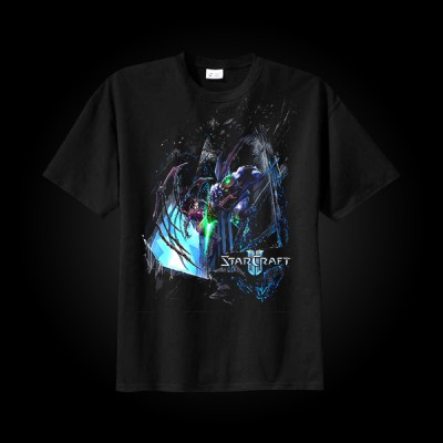 J!NX StarCraft II Wings of Liberty Battle T-Shirt L купить