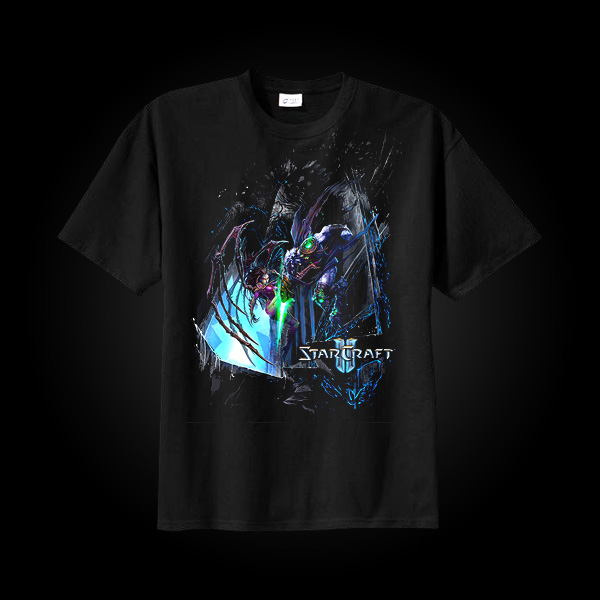 J!NX StarCraft II Wings of Liberty Battle T-Shirt S купить