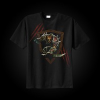 J!NX World of Warcraft Worgen T-Shirt L