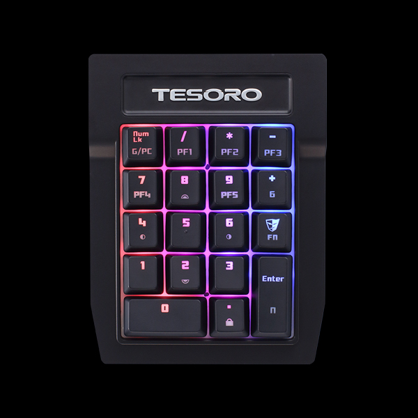 Tesoro Tizona Spectrum Numpad (TS-G2SFLP BL) цена