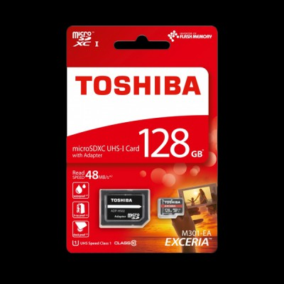 Toshiba microSD-Card M302 128GB (THN-M302R1280EA)