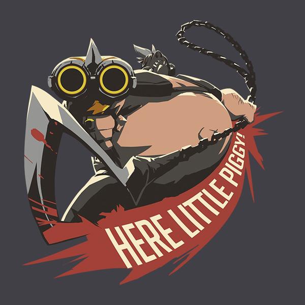 ABYstyle Overwatch Roadhog L (ABYTEX453L) фото