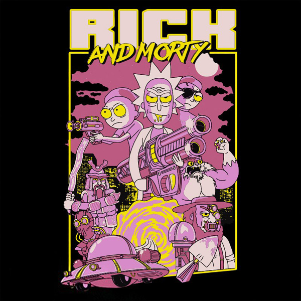 ABYstyle Rick and Morty Movie XL (ABYTEX456XL) фото