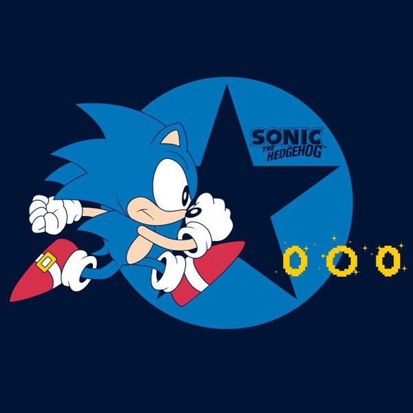 ABYstyle Sonic Running XXL (ABYTEX266XXL) фото