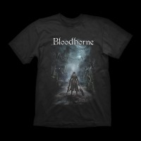 Bloodborne T-shirt Night Street L