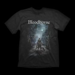 Bloodborne T-shirt Night Street L
