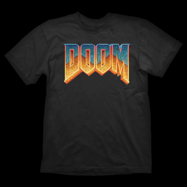 Doom T-shirt Logo M купить