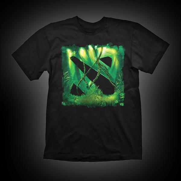 Dota 2 T-Shirt Jungle Size