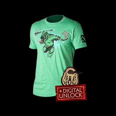 Dota 2 Tide Hunter T-shirt XL купить