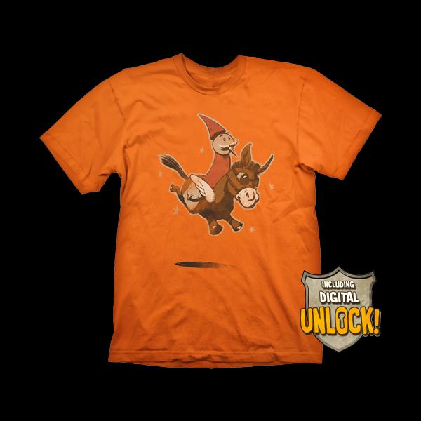 Dota 2 Wizard & Donkey T-shirt L