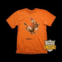 Dota 2  Wizard & Donkey T-shirt M
