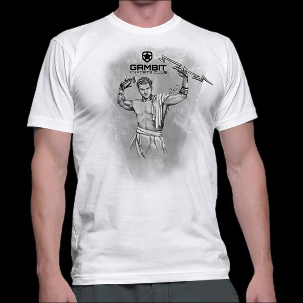 Gambit Zeus The Thunderer T-Shirt Men XS купить