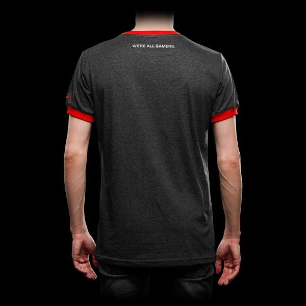 HyperX Gray T-Shirt XL фото