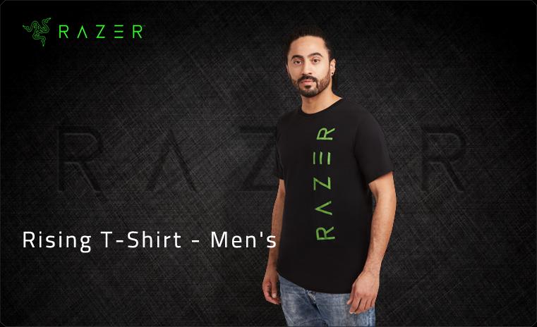 Razer Rising T-Shirt M (RGF7M01S3L-08-04M)