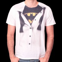 T-Shirt Batman - Bruce Wayne L (MEBATMBTS044)
