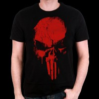 T-Shirt Daredevil Marvel - Punisher Skull S (MEDADEVTS003)