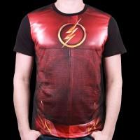 T-Shirt Flash DC Comics - Costume Sublimation L (MEFLAHVTS040)