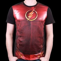 T-Shirt Flash DC Comics - Costume Sublimation S (MEFLAHVTS040)