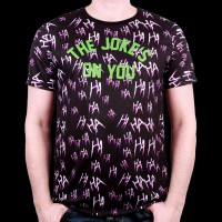 T-Shirt Joker DC Comics Suicide Squad - Ahahahah The Joke Subli L (MESUSQMTS029)