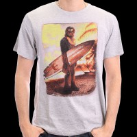 T-Shirt Star wars - Chewie on the Beach L (HSTTS1255)