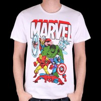 T-Shirt Marvel - Avengers Old School S (HMVTS1332)
