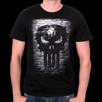 T-Shirt Marvel - The Punisher Bricks M (MEPUNIXTS004)
