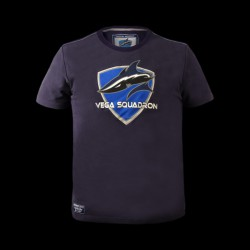 Vega Squadron T-Shirt S Dark Blue