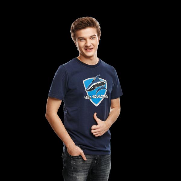 Vega Squadron T-Shirt S Dark Blue фото