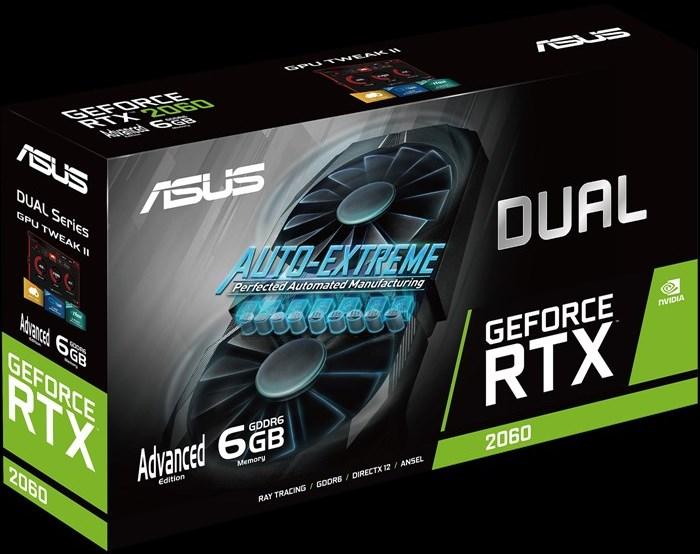 ASUS Dual GeForce RTX 2060 упаковка