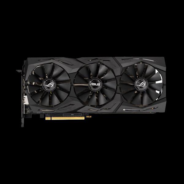 Asus GeForce RTX 2060 ROG Strix Gaming OC (STRIX-RTX2060-O6G-GAMING) цена