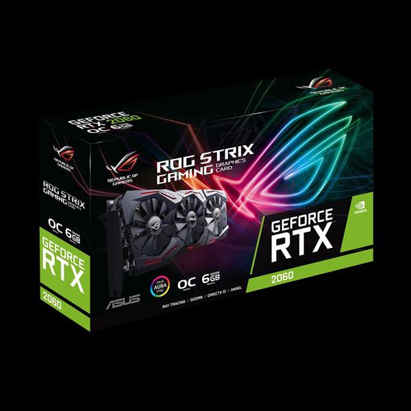 Asus GeForce RTX 2060 ROG Strix Gaming OC (STRIX-RTX2060-O6G-GAMING) стоимость