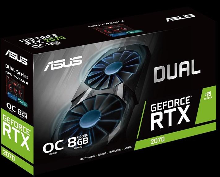 ASUS Dual GeForce RTX 2070 упаковка