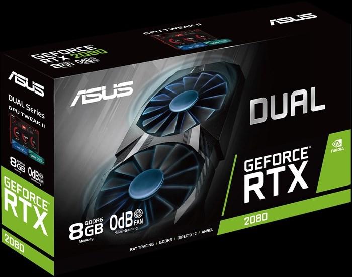 ASUS Dual GeForce RTX 2080 упаковка
