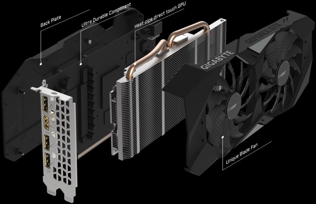 GeForce GTX 1660 Ti строение