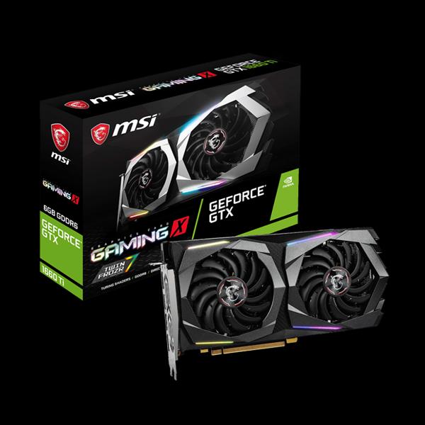 MSI GeForce GTX 1660 Ti Gaming X 6G фото