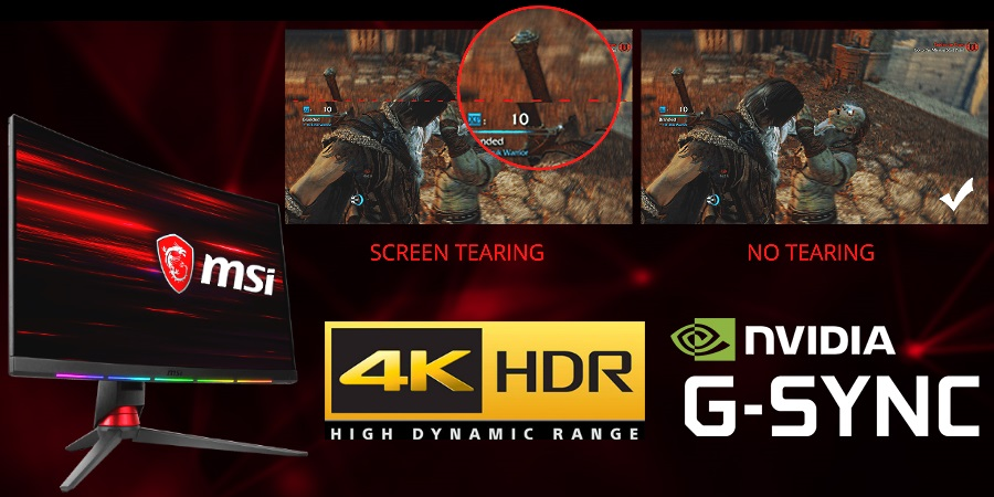 4K HDR G-sync