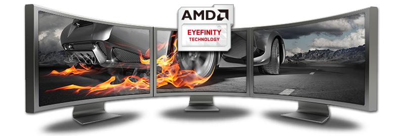 Технология AMD Eyefinity